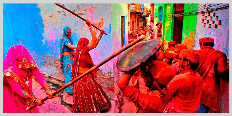 Lathmaar Holi, Mathura