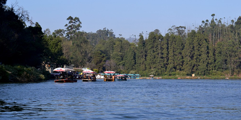 Boating at Ooty