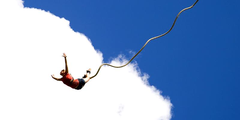 Bungee Jumping - Rishikesh