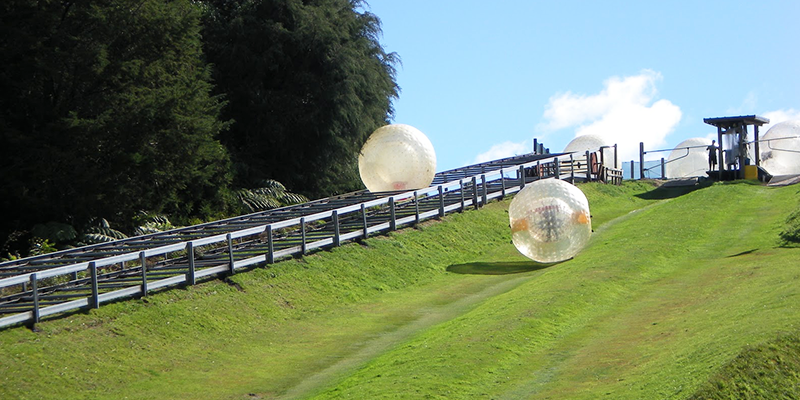 Zorbing - Solang Valley