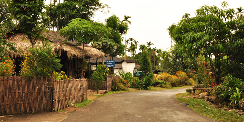 Cleanest Village: Mawlynnong