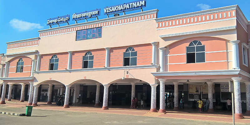 Cleanest Railway Station - Visakhapatnam