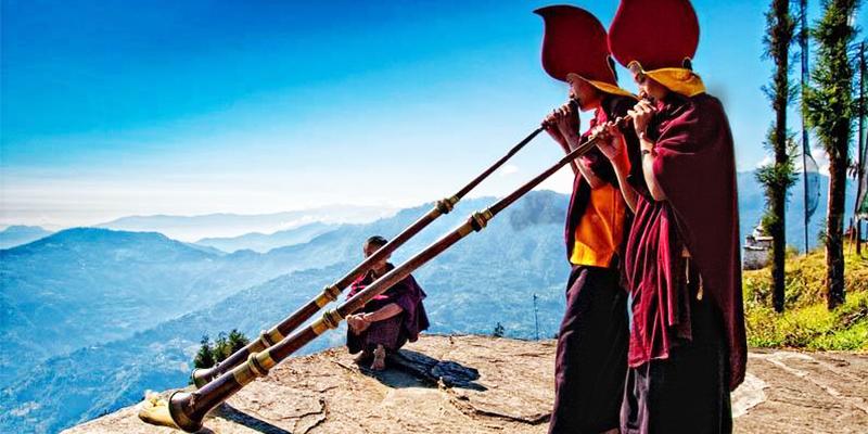 Yuksom in West Sikkim
