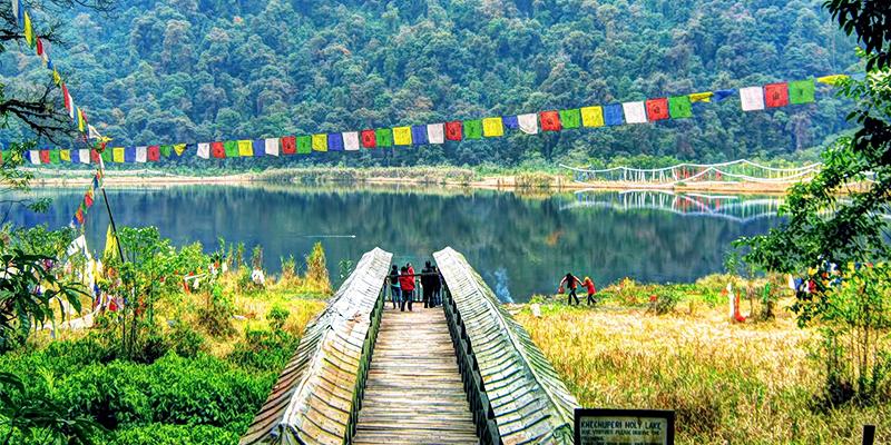 Khecheopairi Lake in Sikkim