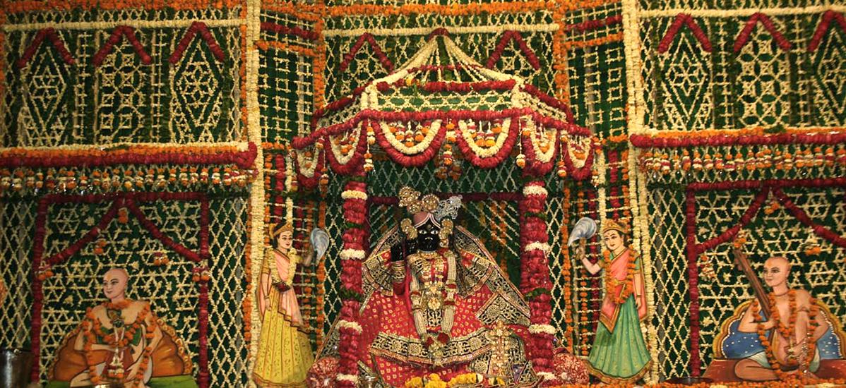 Bainke Bihari Temple mathura