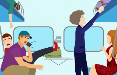 Travel Etiquette In Trains