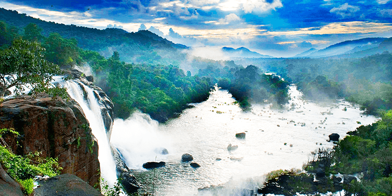 Athirapilly waterfalls