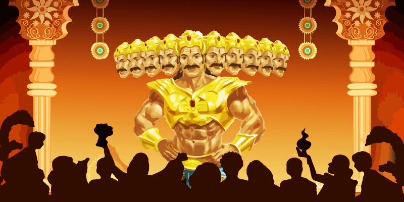 Unique Dussehra