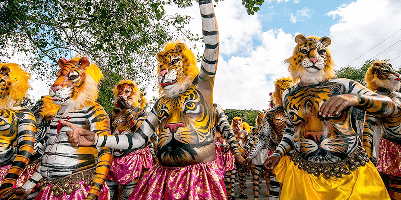 Pulikkali Tiger Play