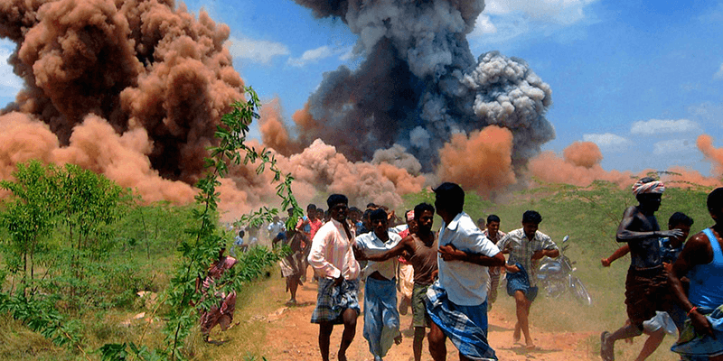 blast at cracker factory sivakasi