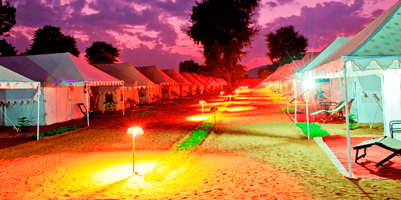Camps at Pushkar