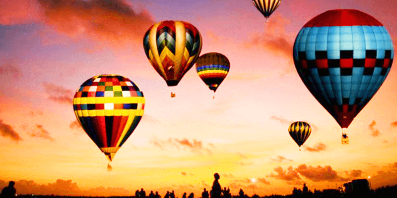 Hot Air Balloon Ride in Pushkar