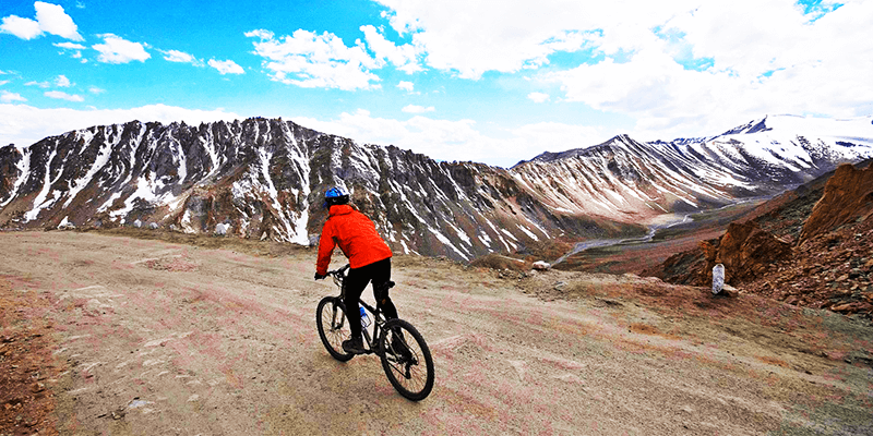Mountain Biking in Ladakh