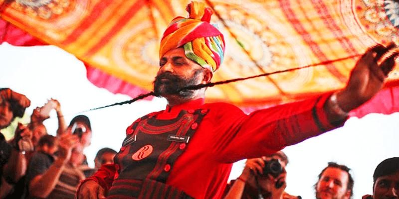 Moustache Competition Pushkar