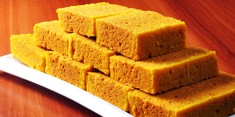 Search for authentic Mysore Pak