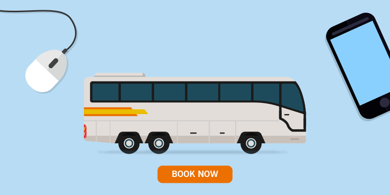 Book bus ticket from anywhere