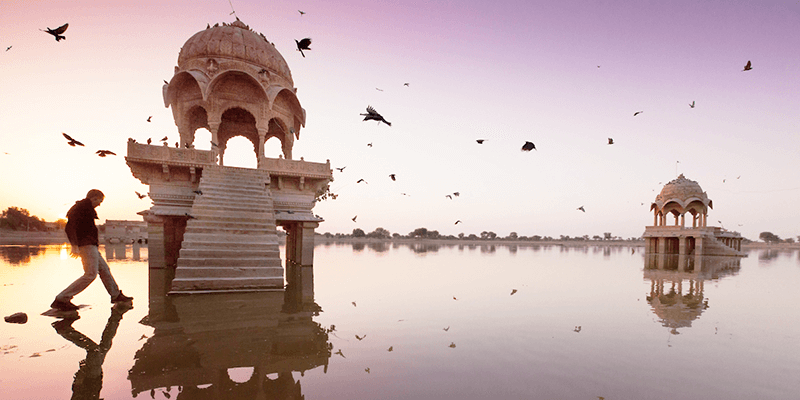 Gadisar Lake images