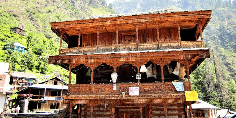 Jamlu Dev temple