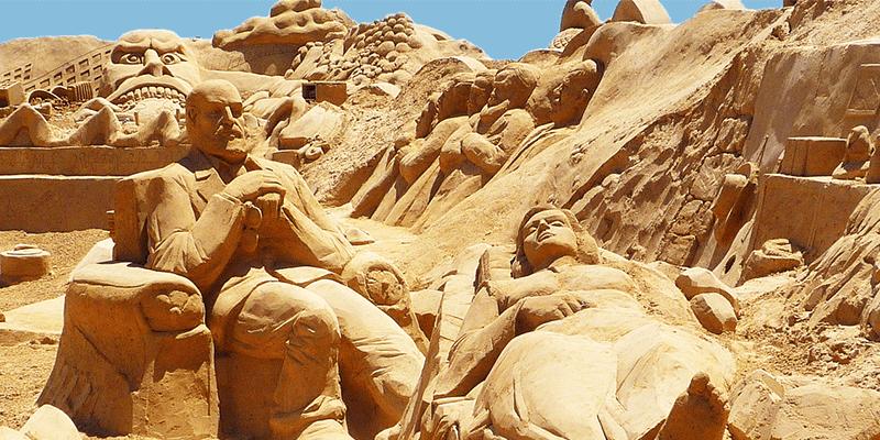 International Sand Art Festival Bhubaneshwar