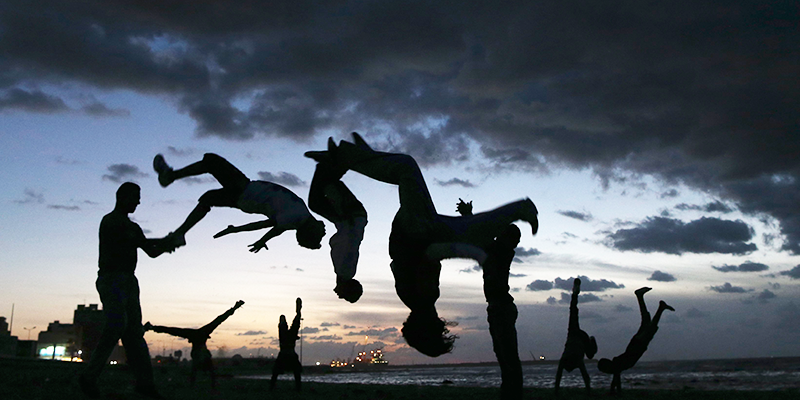 Mumbai Tryst with exciting Parkour