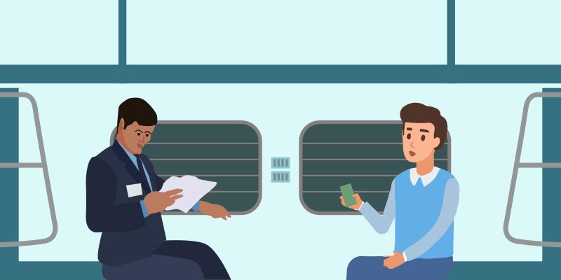 know pnr status of train ticket