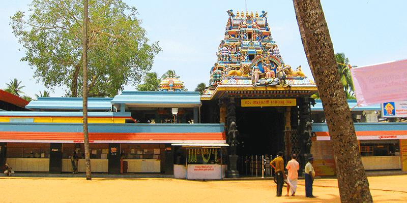 Attukal temple images