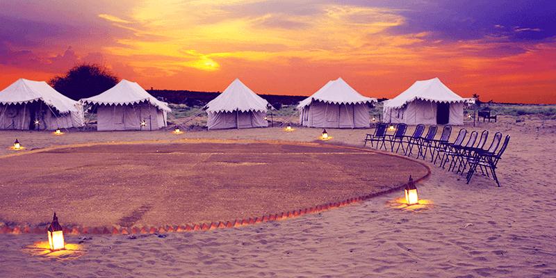 Jaisalmer desert camps