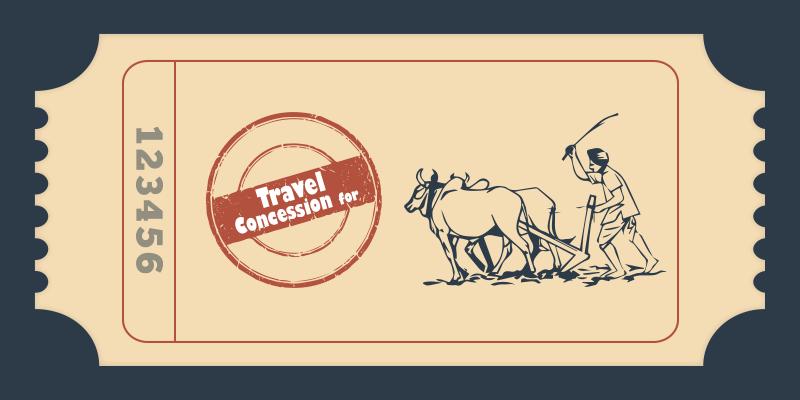 Indian railway farmer concessions