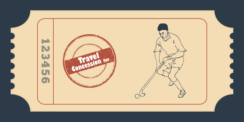 Indian railways sports concessions