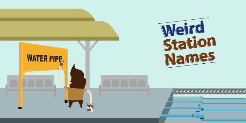 Funny railway station names