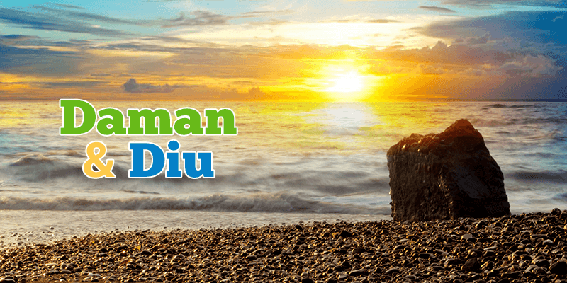 Daman Diu beaches