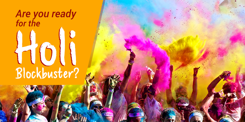 Holi Destinations in India