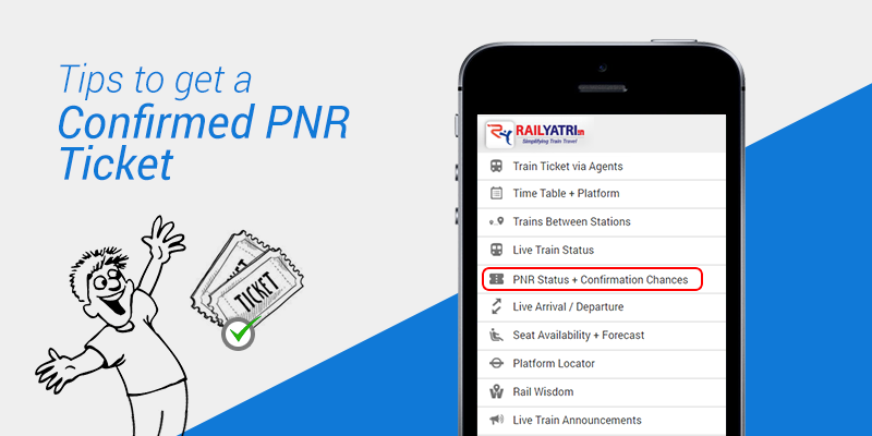 PNR status confirmation prediction
