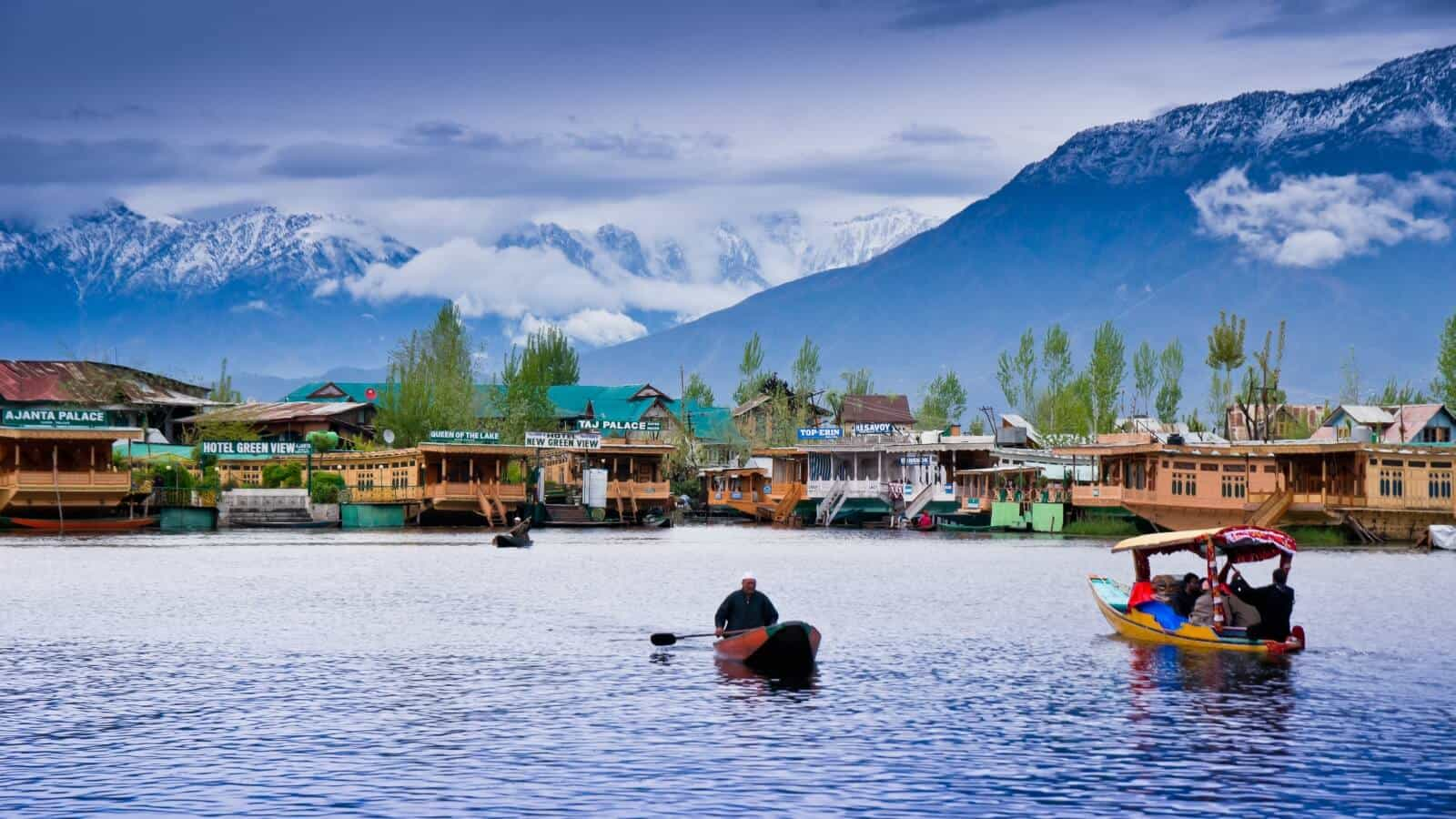 Dal Lake in Kashmir
