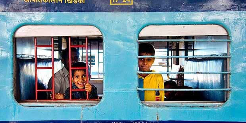 Unique experience in Indian trains