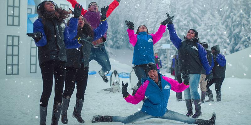 snow park rides in imagica