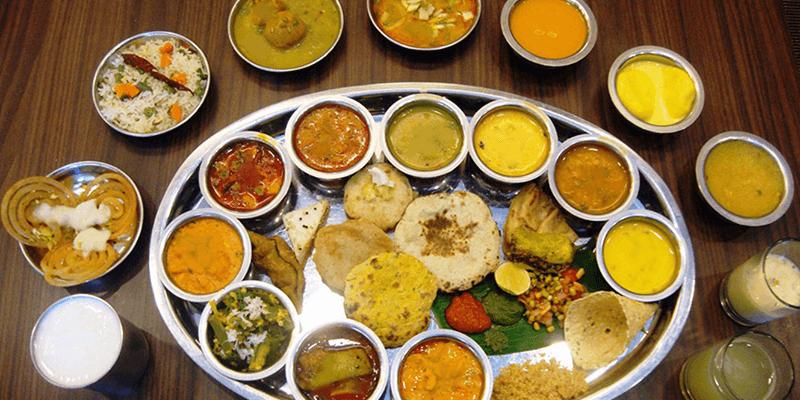 Jain thali