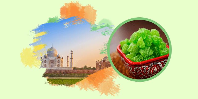 Agra 's famous petha