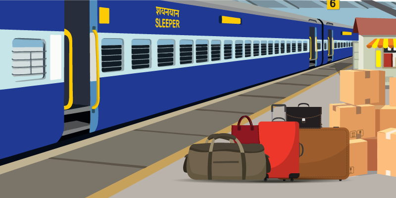 Indian railway rules in Marathi language