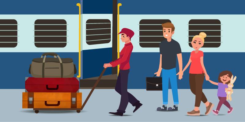 Urdu railway blog