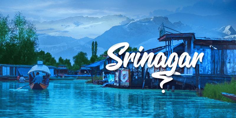 Srinagar sightseeing