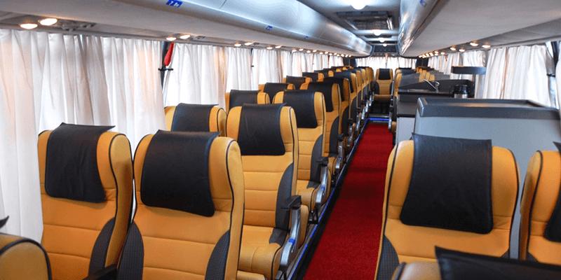 bus interiors