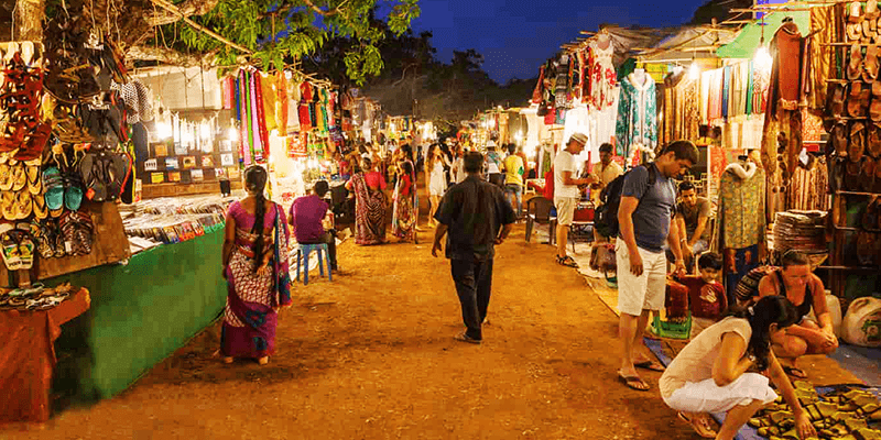 Goa Flea Markets