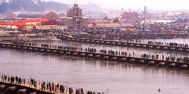 Kumbh Mela crowd