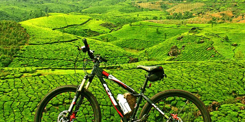 Munnar cycling