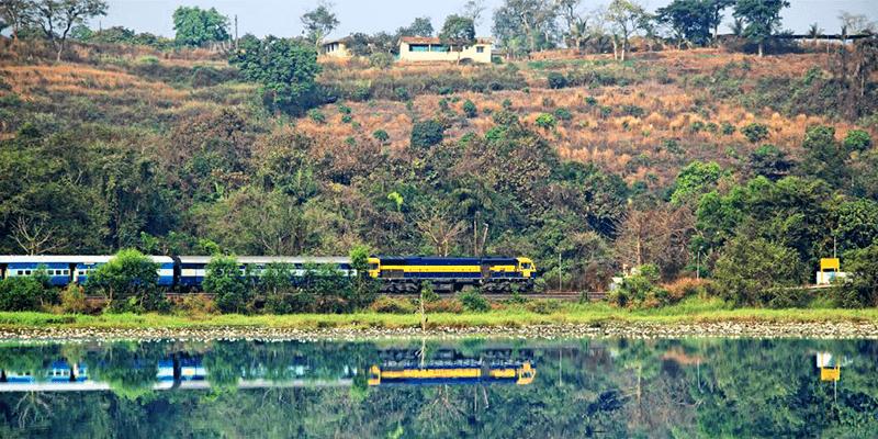 Dibrugarh to Ledo train