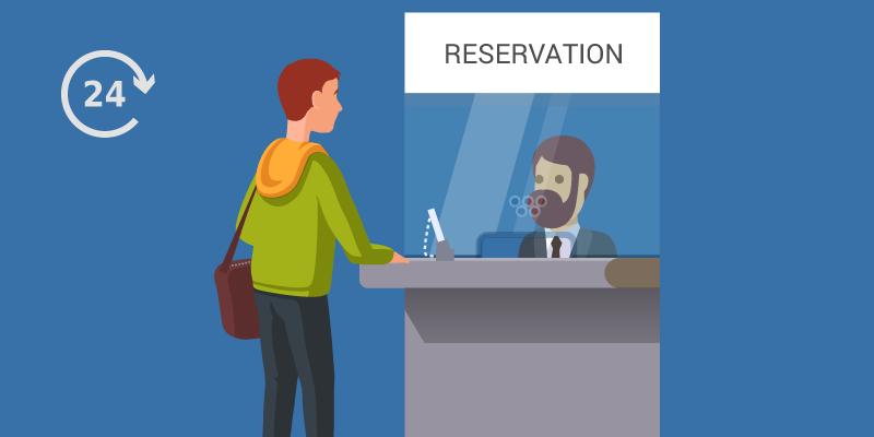 Irctc procedure for ticket transfer