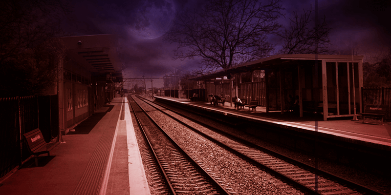 Haunted railway stations