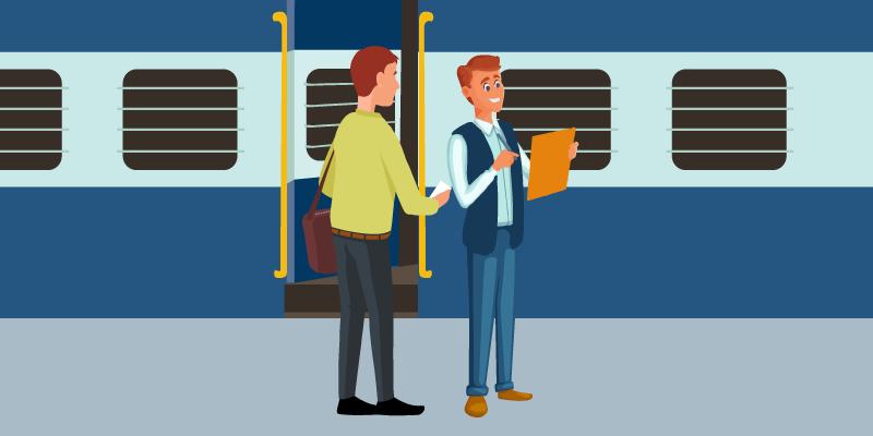 Train ticket transfer