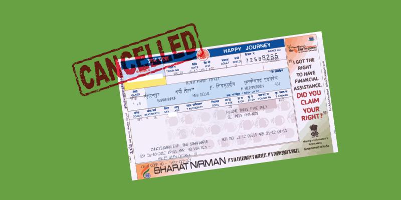 Train Ticket Cancellation